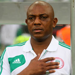 Former Super Eagle's coach Stephen Keshi
