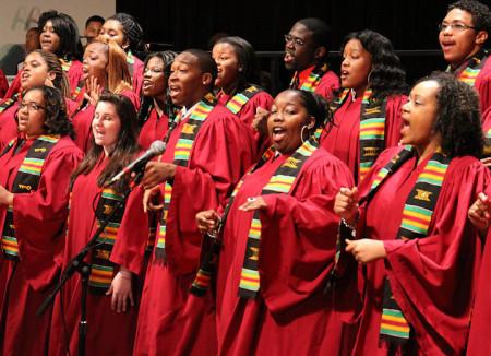The Bloomsburg Gospel Choir