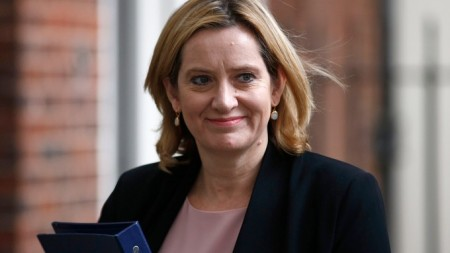 Home Secretary Amber Rudd.