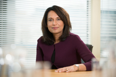 """Baroness McGregor-Smith said: """"The time for talk on race in the workplace is over, it's time to act."""""""