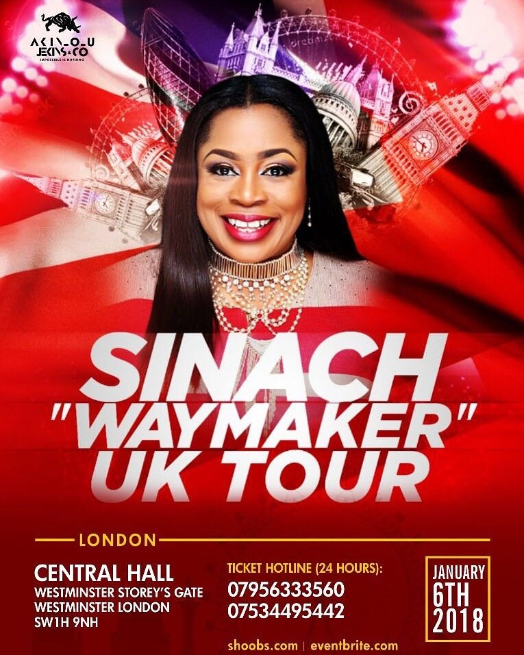 Sinach set to rock London - African Voice Newspaper
